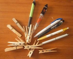 Thuiswerkende Moeders Pennen Knijpers