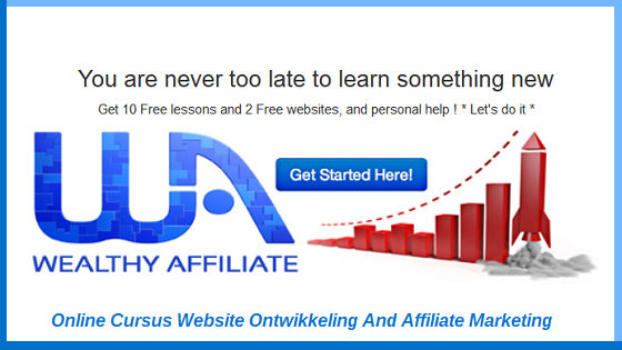 Online Cursus Website Ontwikkeling Affiliate Marketing