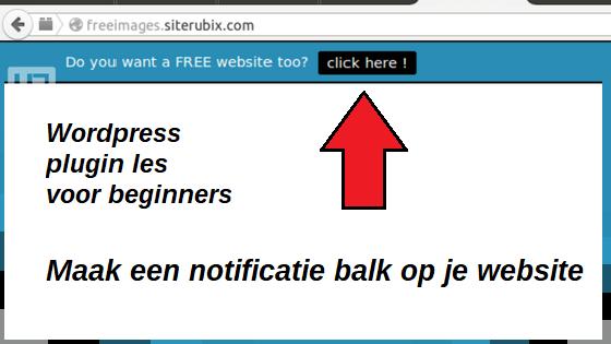notificatie-bar-plugin