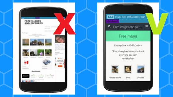 Maak je website mobiel vriendelijk