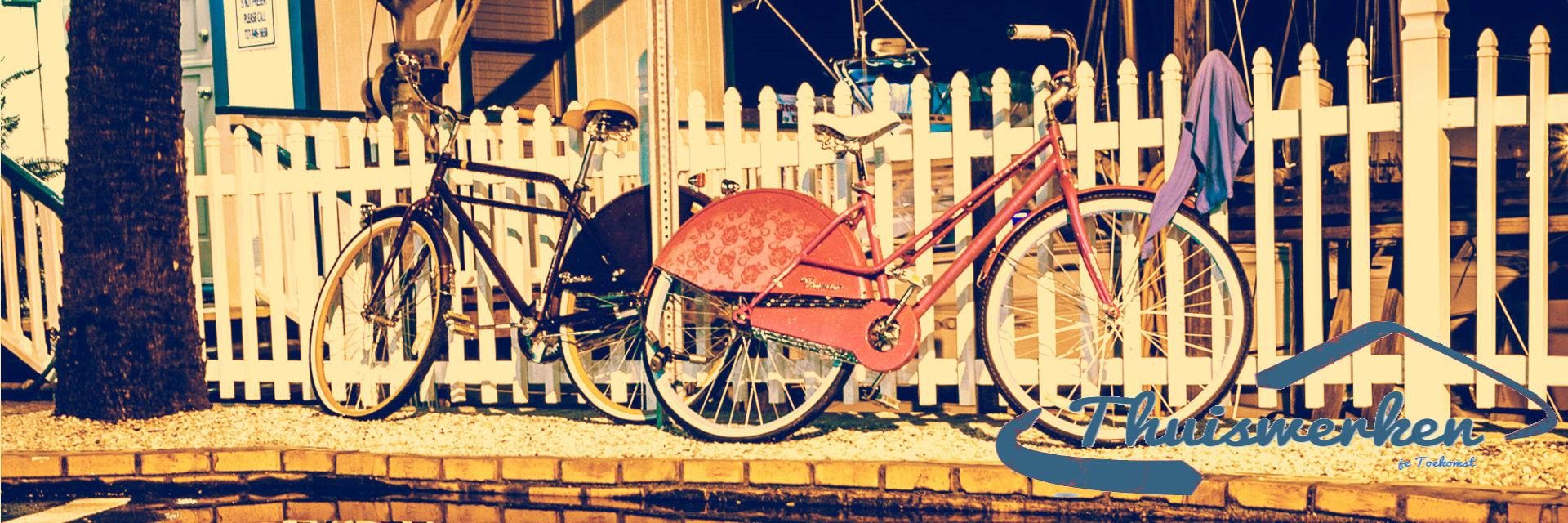 Image: Zelfs geen fiets nodig om op je werk te komen!