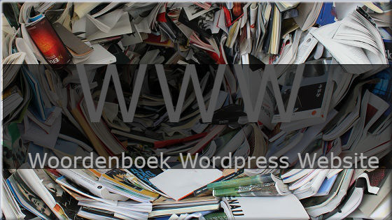 www woordenboek wordpress website