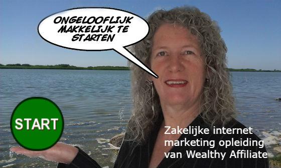 Zakelijke internet marketing opleiding van Wealthy Affiliate