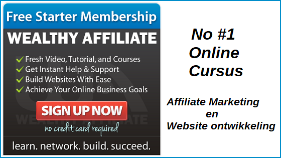 Cursus affiliate marketing website ontwikkeling
