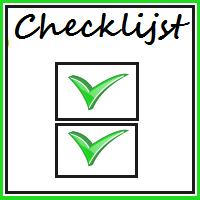 Checklijst voor je blogpost