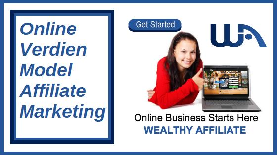 Online verdien model affiliate marketing