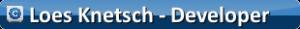 Loes Knetsch ontwikkelaar website