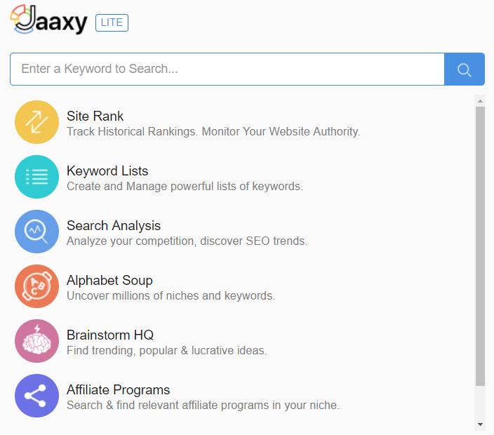 Jaaxy_keyword_onderzoek_gereedschap