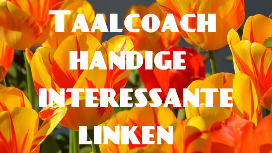 Taalcoach handige interessante linken