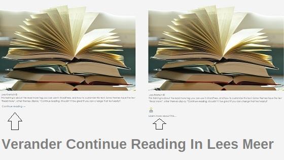 Verander Continue Reading In Lees Meer