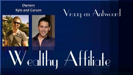 Wealthy Affiliate FAQ Kyle-Carson