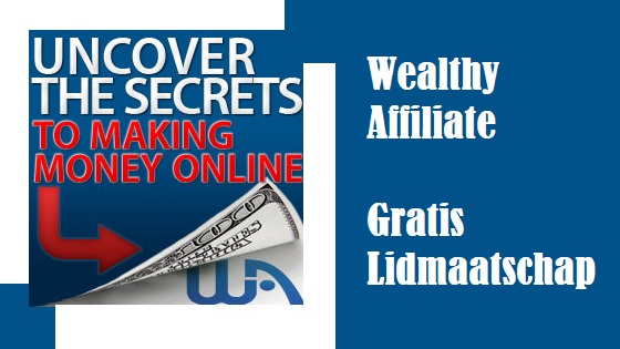 Wealthy Affiliate gratis Lidmaatschap
