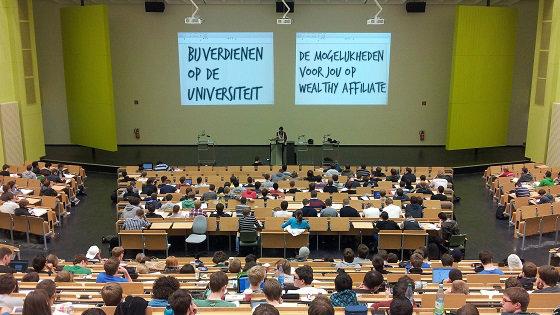 Bijverdienen op de universiteit van Wealthy Affiliate